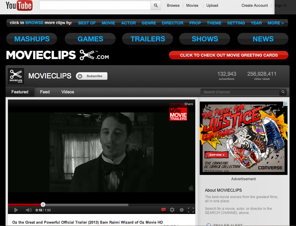pando movieclips is driving 600 million monthly youtube