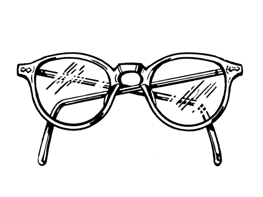 Old Glasses Drawing Pando Lightbank Launches