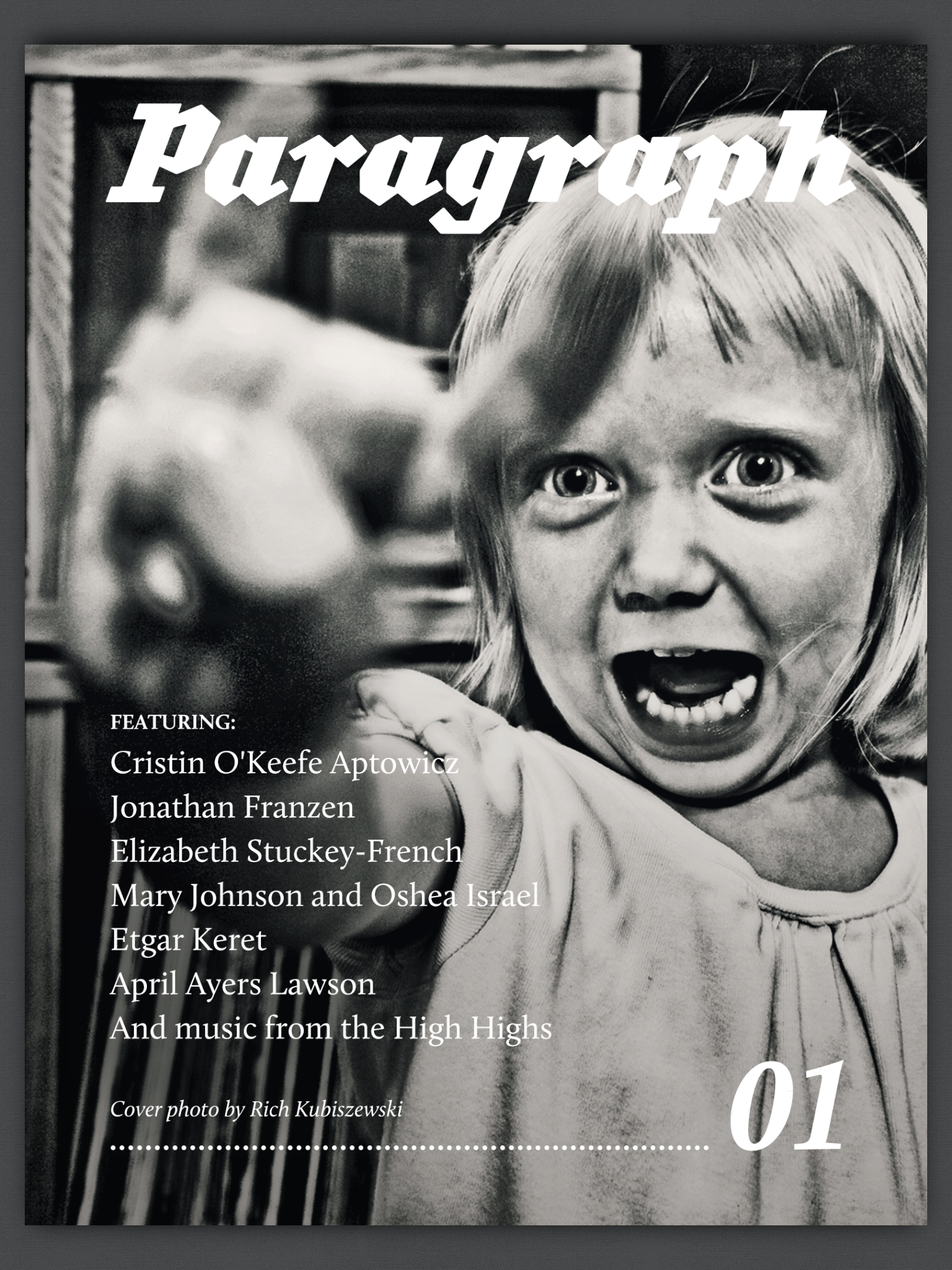 Issue one of Paragraph Shorts