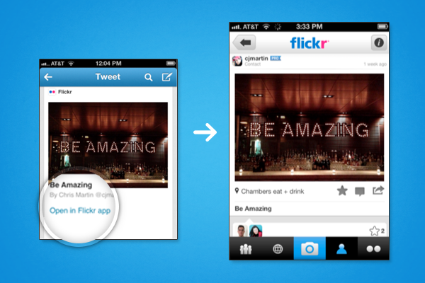 What this might look like for Flickr users.