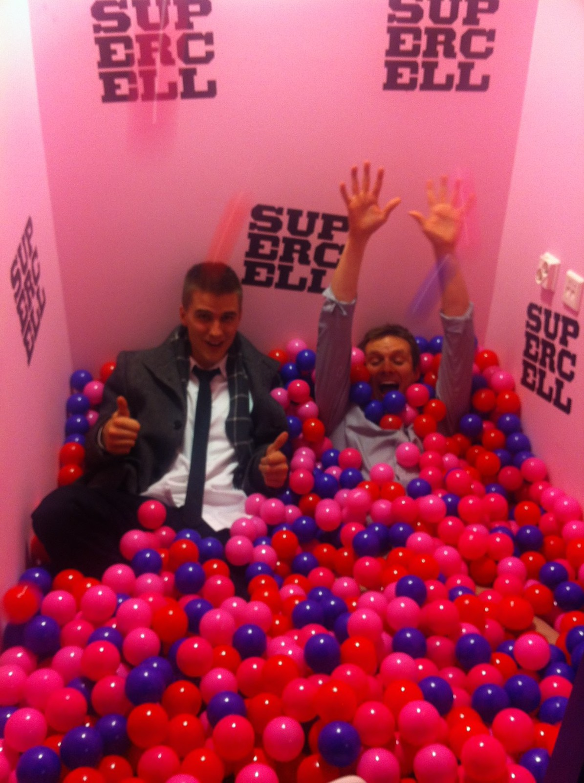 Supercell's totally modest ballpit