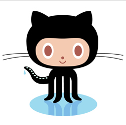GitHub octocat, designed by Simon Oxley