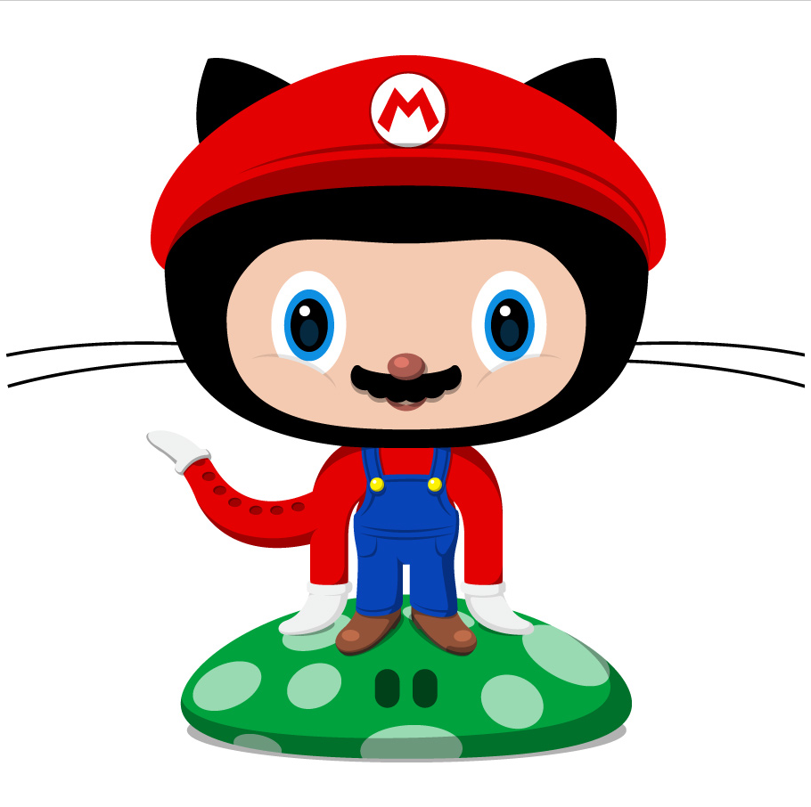 "Octocat ""Plumber"" by Cameron McEfee"