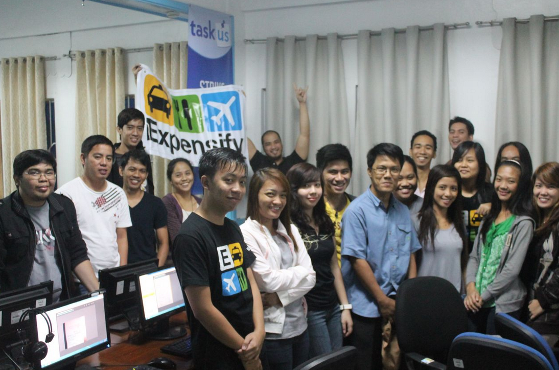 Expensify team in the Philippines