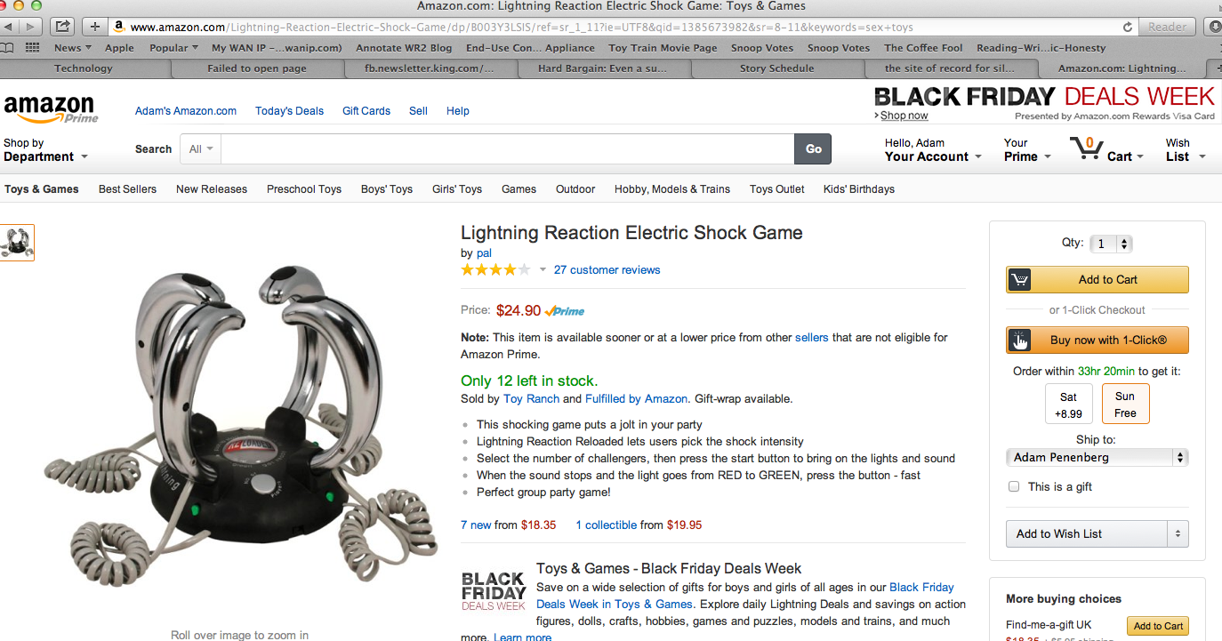 7. Lightning Reaction Game