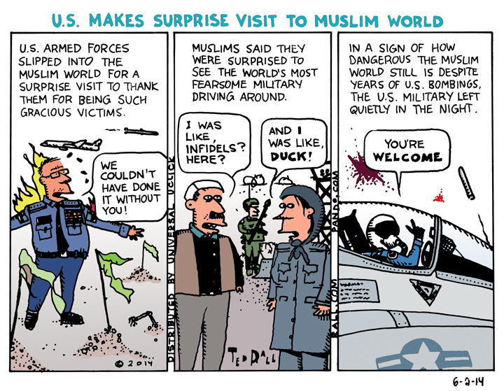 U.S. Makes Surprise Visit to Muslim World