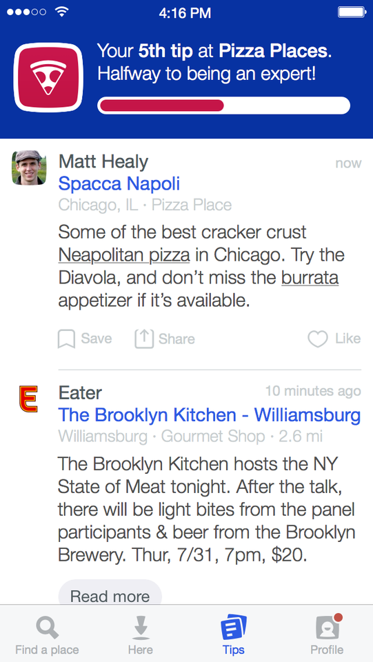 Foursquare Experts 1