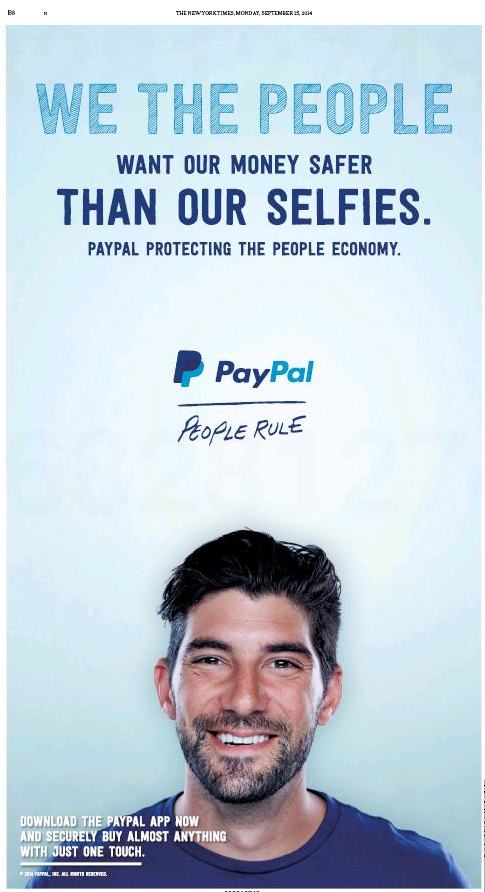 PayPal – We the People Ad